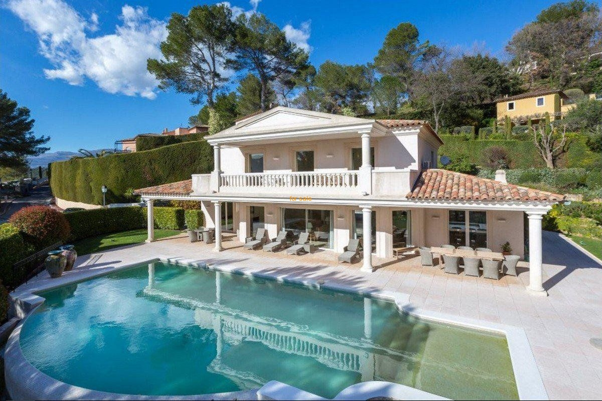 WMN2764811, Villa with panoramic view of Golf course : Royal Mougins